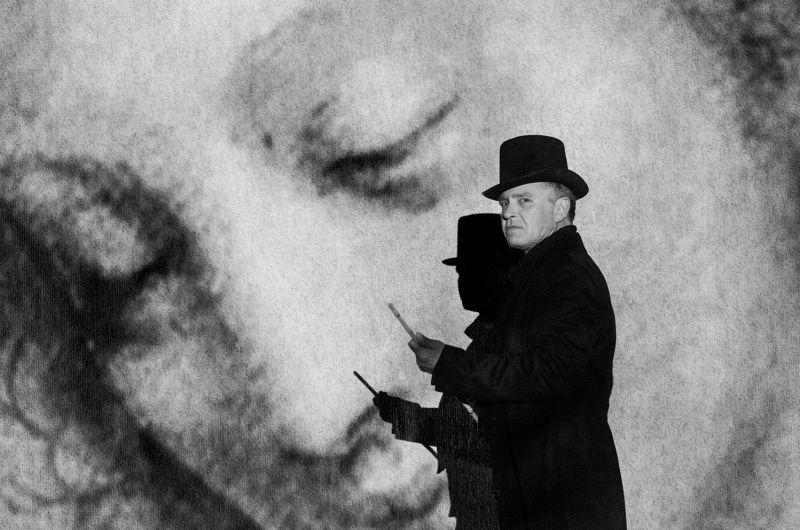 "Scena iš spektaklio ""Camera obscura"". Dmitrijaus Matvejevo nuotrauka"