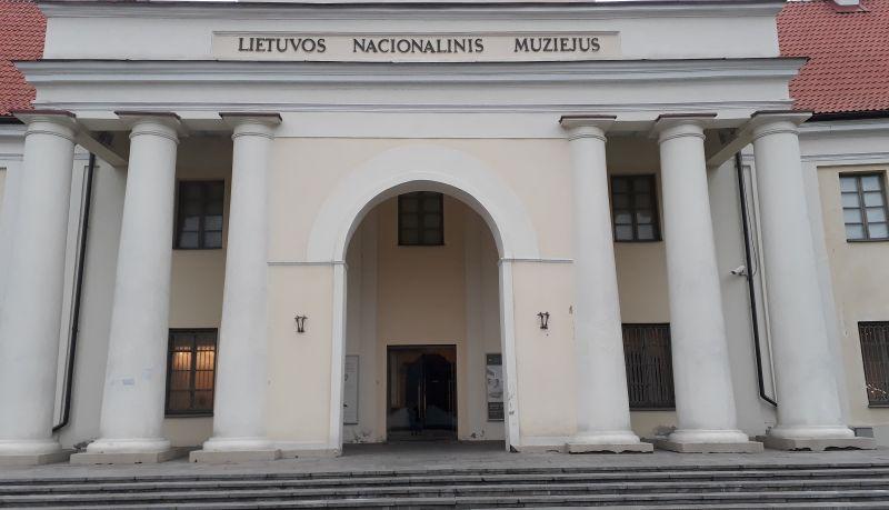 Nacionalinis muziejus. Autoriaus nuotrauka