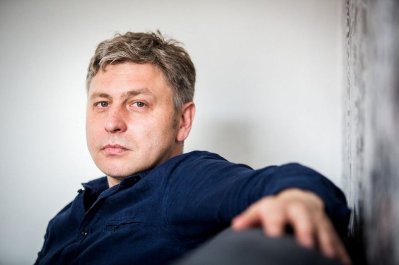 Rašytojas Marius Ivaškevičius. Ramūno Danisevičiaus (lrytas.lt) nuotrauka