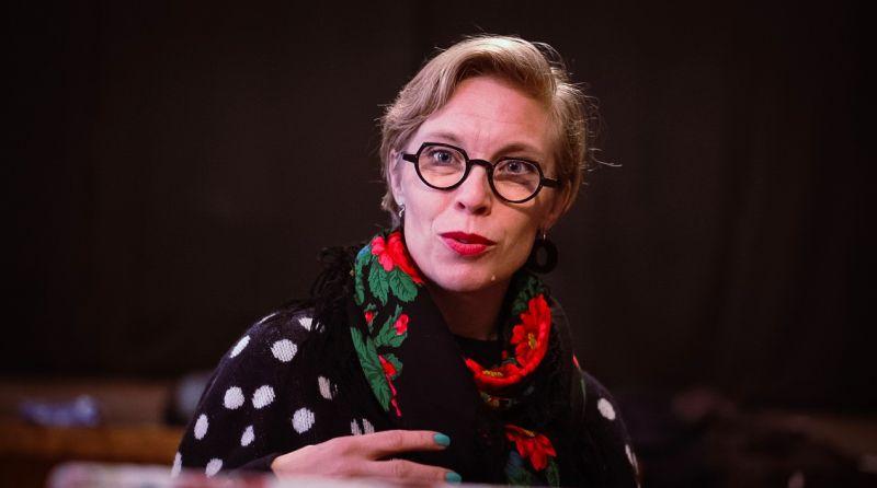 """Dramaturgė, dramaturgijos konsultantė, režisierė ir meno vadovė AnnaLina Hertzberg. Festivalio """"Dramokratija"""" archyvo nuotrauka"""
