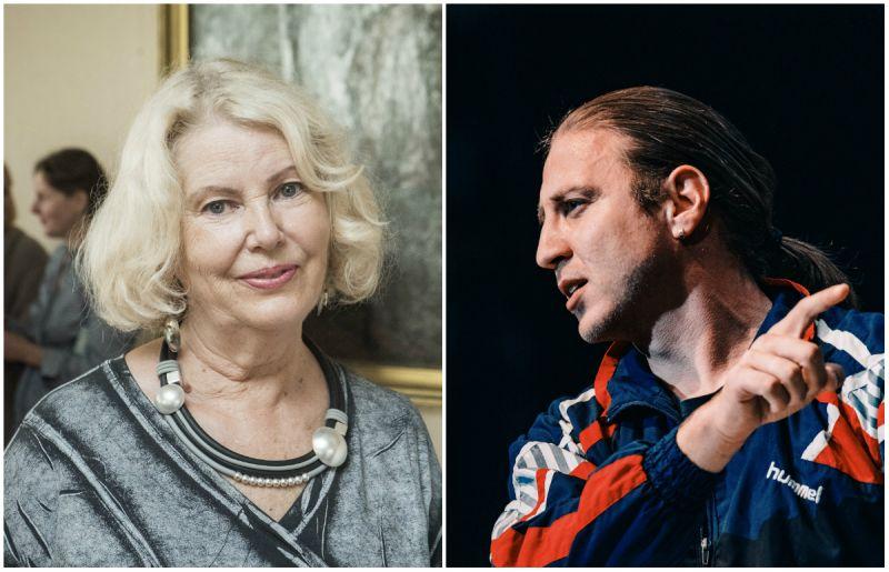 Aktoriai Vaiva Mainelytė ir Marius Repšys. Teatro archyvo nuotrauka
