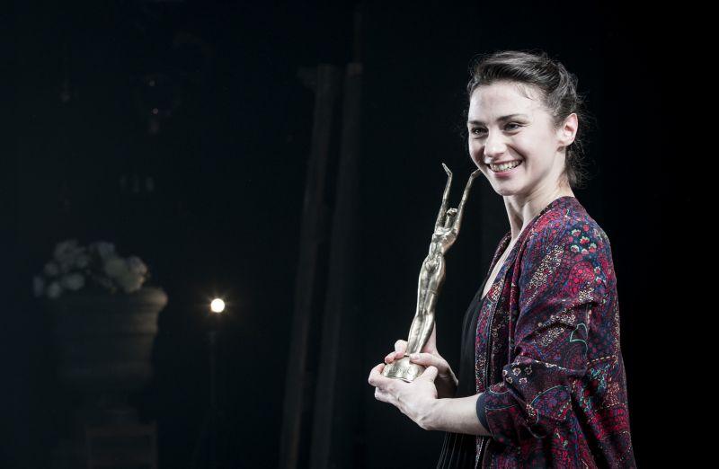 Aktorė Indrė Patkauskaitė. Teatro archyvo nuotrauka