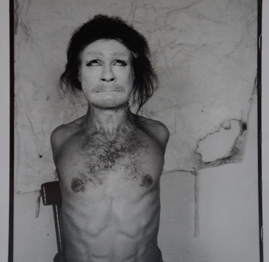 Benas Šarka. Butoh. Raimundo Urbono nuotrauka