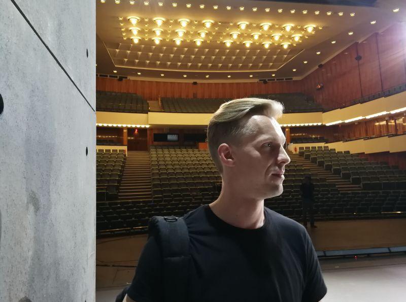 Martynas Rimeikis. Artūro Alensko nuotrauka