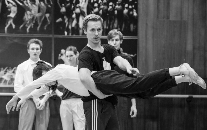 Choreografas Martynas Rimeikis. Martyno Aleksos nuotrauka