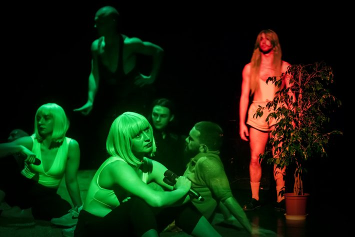 """Vaizdas iš festivalio """"Naujasis Baltijos šokis 2019"""" uždarymo vakaro. Dmitrijaus Matvejevo nuotrauka"""