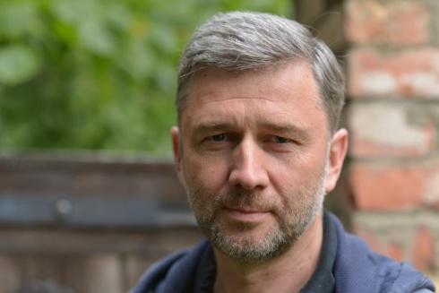 Valstybinio jaunimo teatro vadovas, teatrologas Audronis Liuga. Nuotrauka iš asmeninio archyvo