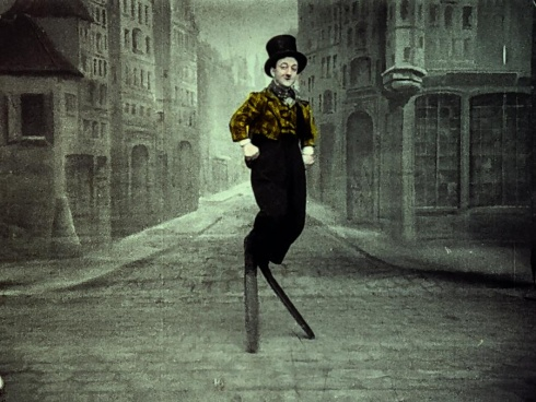 """Ištrauka iš programos """"Fono-kino-teatras"""" (pranc. """"Phono-Cinéma-Théâtre"""")."""