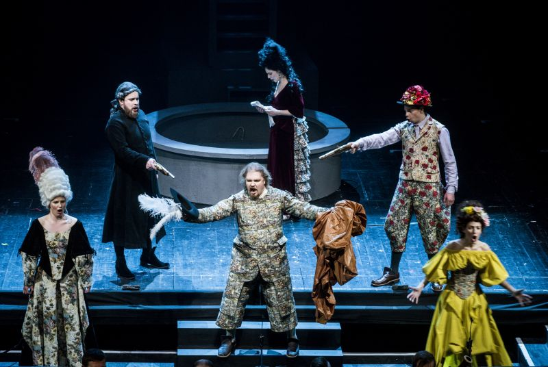 """Scena iš operos """"Don Žuanas"""". Dmitrijaus Matvejevo nuotrauka"""