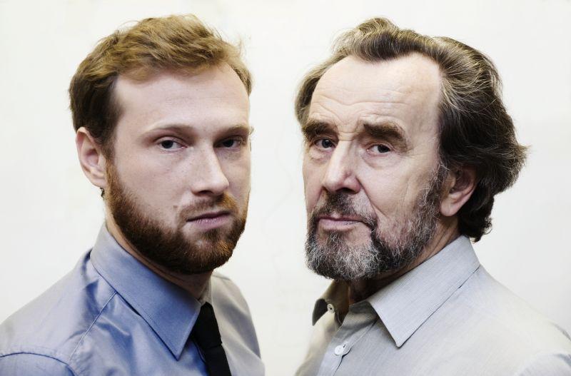 Paulius ir Eugenijus Ignatavičiai. Dmitrijaus Matvejevo nuotrauka