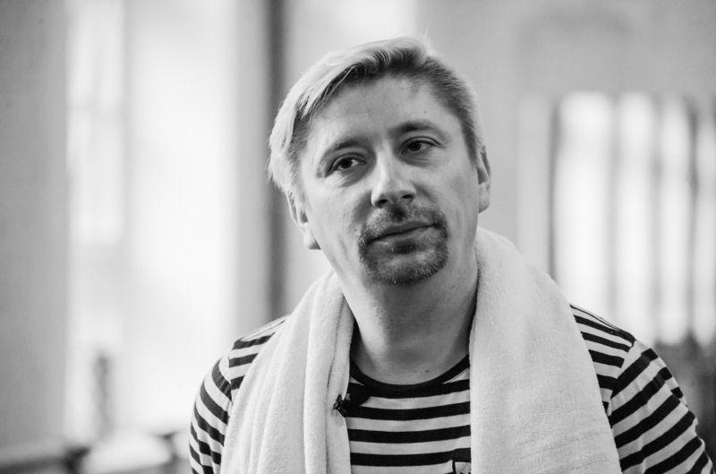 Choreografas Kirilas Simonovas. Olesios Kasabovos nuotrauka