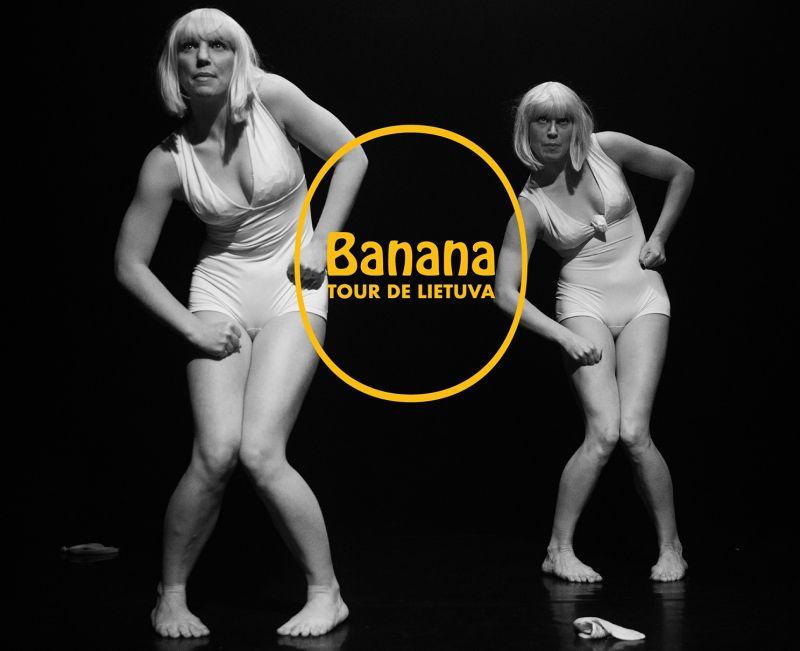 """""""Banana tour de LIETUVA"""". Vismantės Ruzgaitės nuotrauka"""