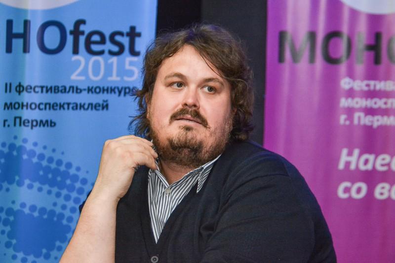 Rusų teatro kritikas Pavelas Rudnevas. Nuotrauka iš asmeninio archyvo