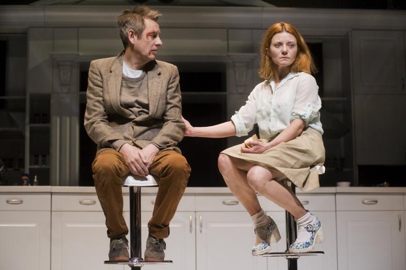 Abramas (Arūnas Sakalauskas) ir Marta (Rasa Samuolytė). Dmitrijaus Matvejevo nuotrauka