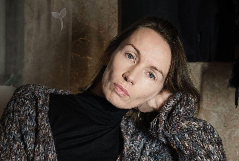 Aktorė Viktorija Kuodytė. Lauros Vansevičienės nuotrauka