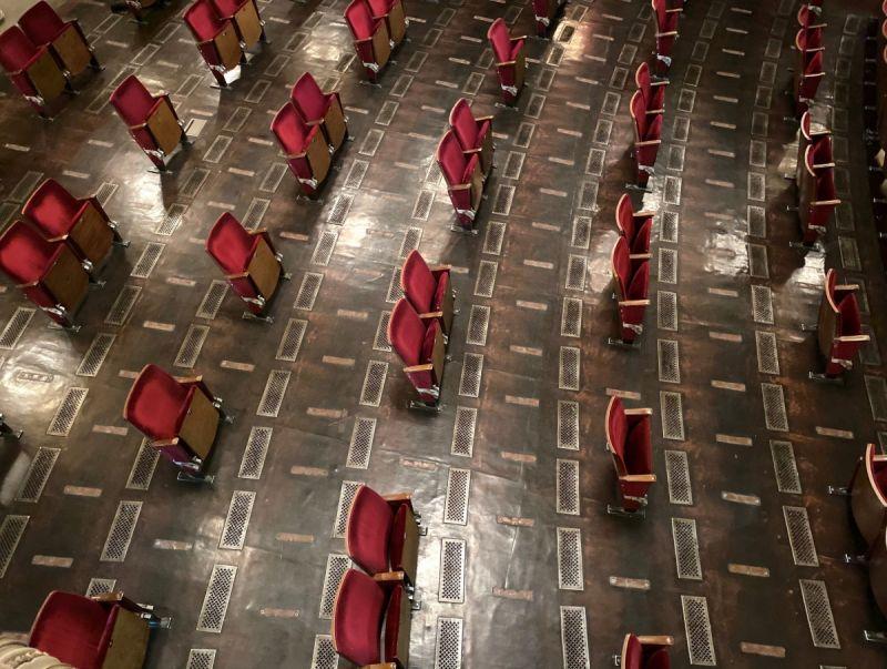"""Berliner Ensemble"" teatras. Nuotrauka iš teatro archyvo."
