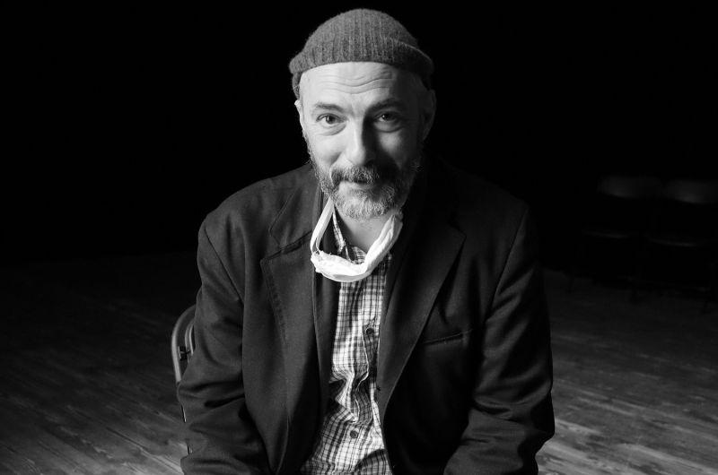 Slovėnų režisierius Tomi Janežičius. Nuotrauka iš VMT archyvo
