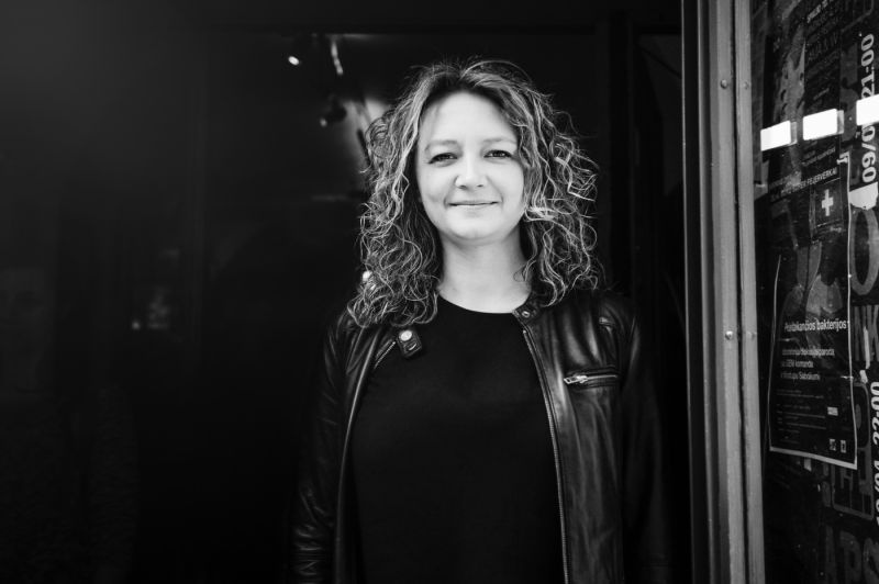 Teatrologė, teatro kritikė Goda Dapšytė. Lauros Vansevičienės nuotrauka