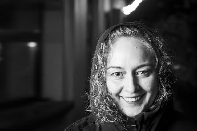 Viena iš Teatro informacijos centro steigėjų - Kristina Savickienė. Nuotrauka iš asmeninio archyvo