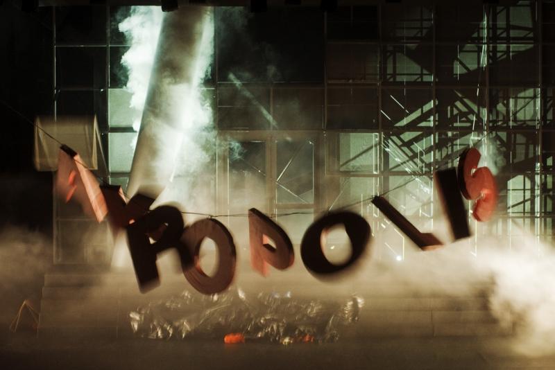 """Negali šalis, turėdama prekybos centrą """"Akropolis"""", nesužaisti su tuo scenoje. Dmitrijaus Matvejevo nuotrauka"""