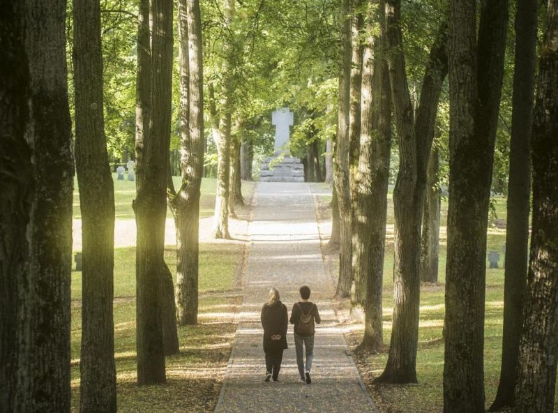 """Spektaklis-pasivaikščiojimas """"Vokietukai"""". Dmitrijaus Matvejevo nuotrauka"""