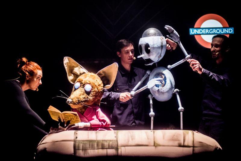 Pinokis ir skaitanti Lapė. Dmitrijaus Matvejevo nuotrauka