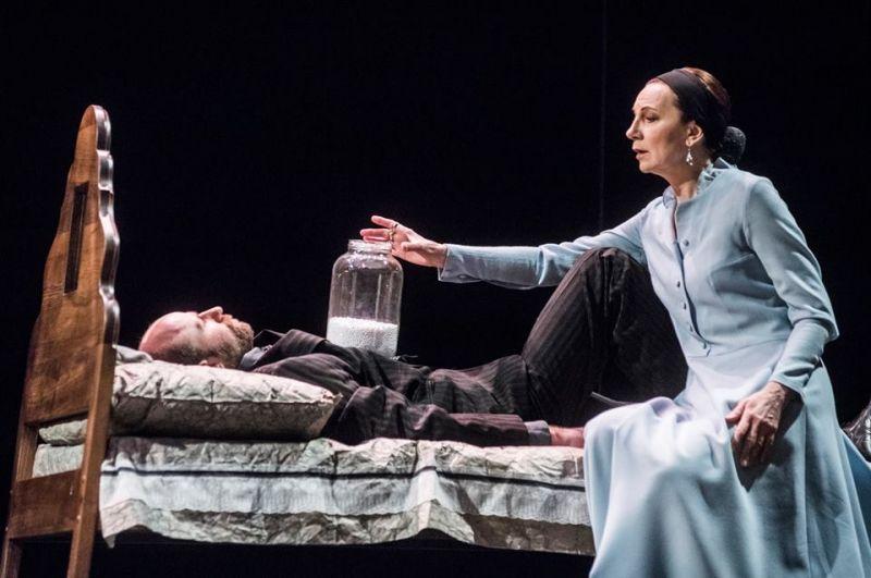 Kristijonas - Aurimas Pintulis, Marija - Regina Šaltenytė. Algirdo Kubaičio nuotrauka