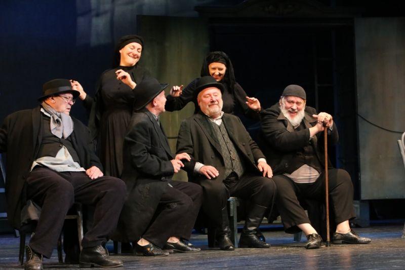 Nomėda Bėčiūtė, Lina Bocytė, Vladas Baranauskas, Juozas Bindokas, Sigitas Jakubauskas ir Eduardas Pauliukonis. Artūro Staponkaus nuotrauka