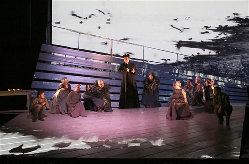 "Scena iš spektaklio ""Nebylys"". ŠDT nuotrauka"