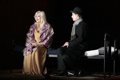 """""""Muškietininkai. Saga. Pirmoji dalis"""" Maskvos dailės teatre. Nuotrauka iš mxat.ru"""
