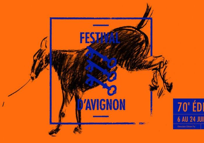 Jubiliejinio festivalio emblema. Vaizdas iš festival-avignon.com