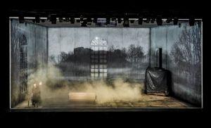 """""""Didvyrių aikštė"""". II veiksmas. Krystiano Lupos paveikslas. Dmitrijaus Matvejevo nuotrauka"""