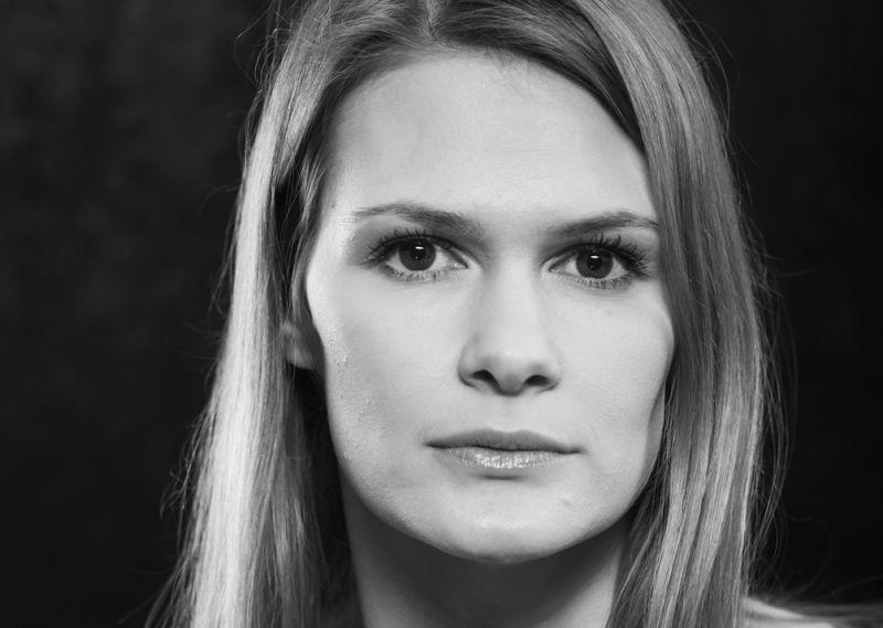 Aktorė Aleksandra Metalnikova. Dmitrijaus Matvejevo nuotrauka