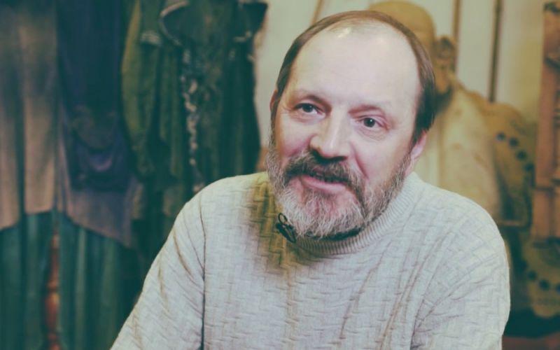 Lietuvos lėlių teatro režisierius ir dailininkas Rimas Driežis. Kosto Kajėno (Bernardinai.lt) nuotrauka