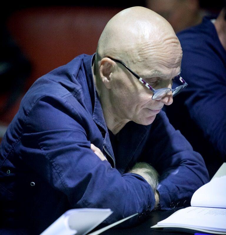 Pagrindinį išmintingojo žydo Natano vaidmenį kuria Vytautas Anužis. Donato Stankevičiaus nuotrauka