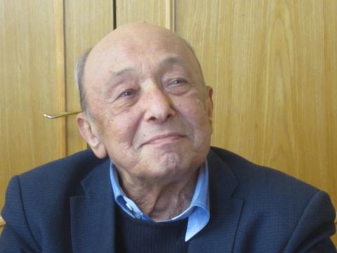 Teatrologijos profesorius, ilgametis Sankt Peterburgo Teatro, muzikos ir kinematografijos akademijos Teatro teorijos katedros vadovas Jurijus Barbojus. Asmeninio archyvo nuotrauka