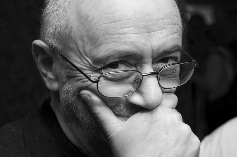 Dailininkas Adomas Jacovskis. Dmitrijaus Matvejevo nuotrauka