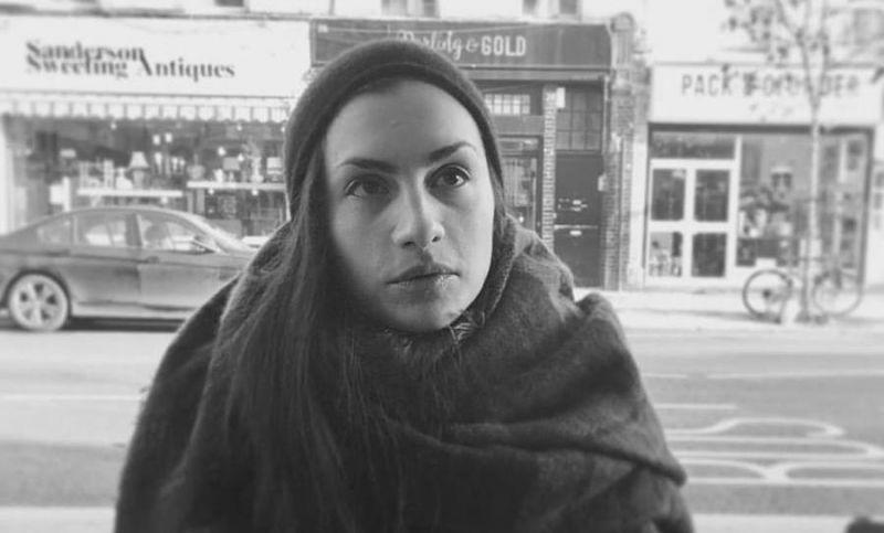 Dramaturgė Teklė Kavtaradze. Asmeninio archyvo nuotrauka