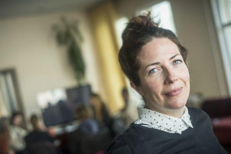 """Britų teatro kūrėja, """"Versmės"""" mentorė Mimi Poskitt. Dmitrijaus Matvejevo nuotrauka"""