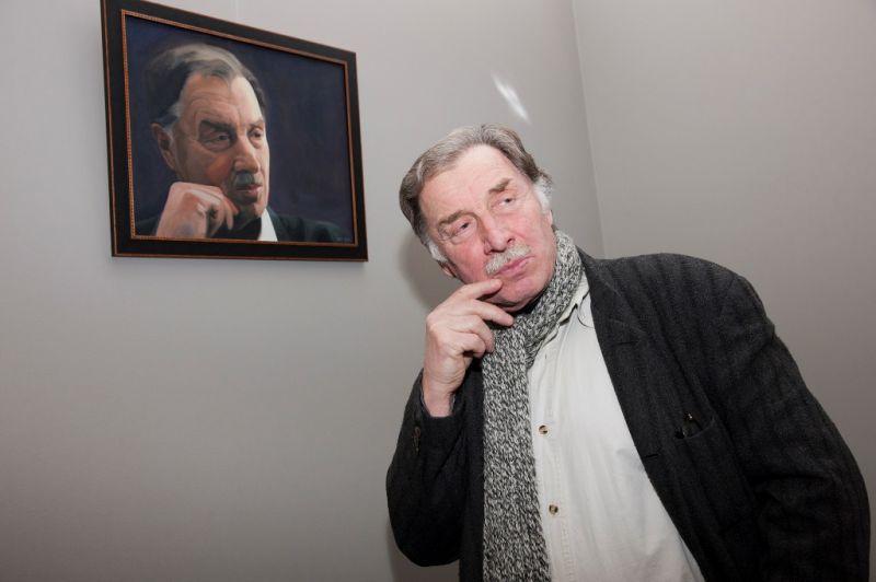 Aktorius Algirdas Pintukas. NKDT nuotrauka