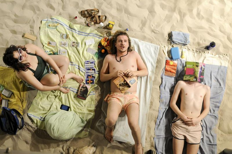 """""""Sun and Sea"""" premjera Drezdene. Sebastiano Hoppe nuotrauka"""
