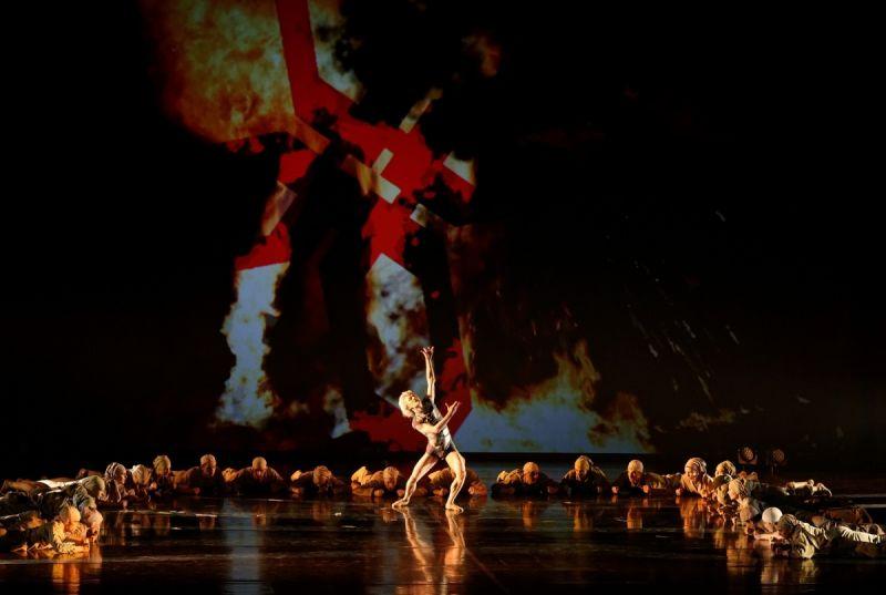 "Scena iš baleto ""Goblinas"". Martyno Aleksos nuotrauka"
