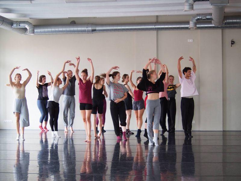"""""""Vasaros šokio mokyklos'17"""" pamoka. Lietuvos šokio informacijos centro archyvo nuotrauka"""
