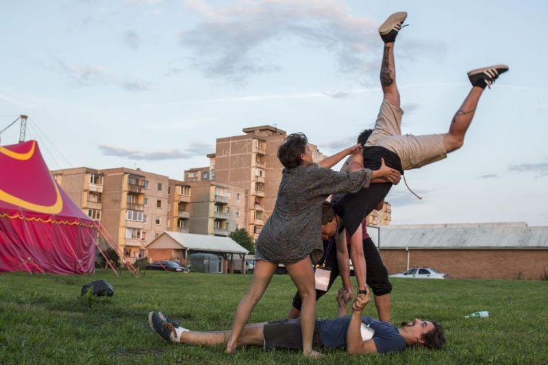 """Festivalis """"Cirkuliacija"""" šiais metais vyko Šilainiuose. Organizatorių arcyvo nuotrauka"""