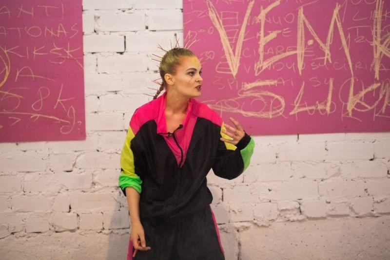 """Scen iš spektaklio režisierės Andros Kavaliauskaitės spektaklio """"Seen"""". Organizatorių archyvo nuotrauka"""