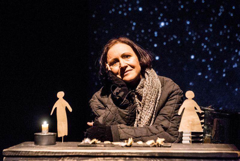 """Spektaklyje """"Ledo vaikai"""" naudojami Birutės Mar tėvų prisiminimai. Dmitrijaus Matvejevo nuotrauka"""
